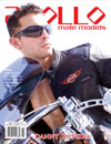 Apollo Male Models Magazine cover model Danny Silveira