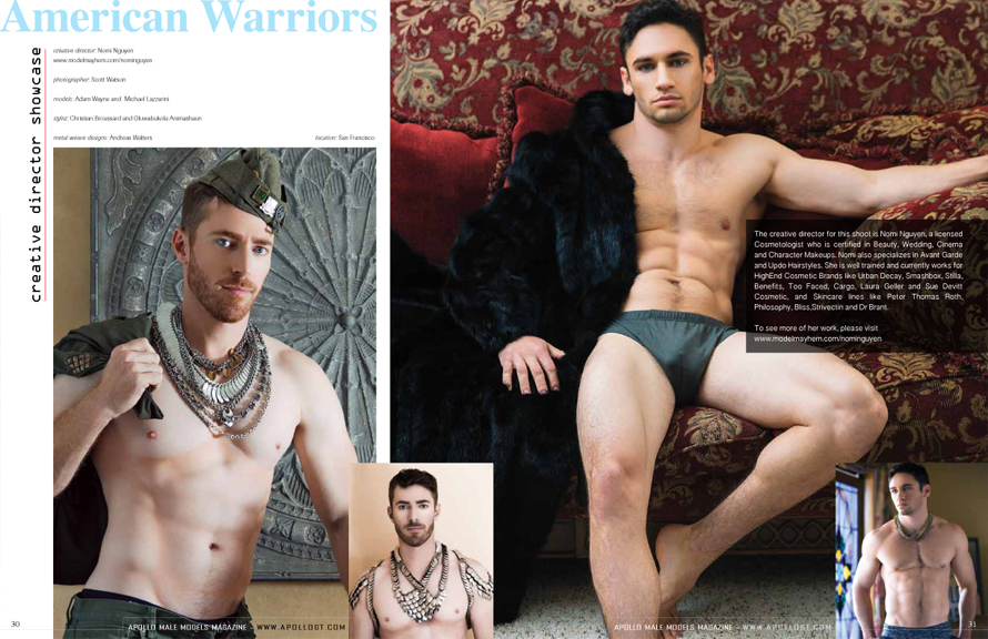 Apollo Male Models Magazine - home of fashion and fitness